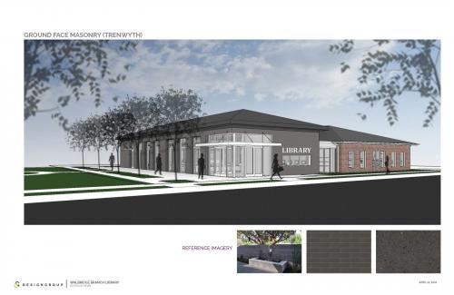 Rendering Walbridge Renovation