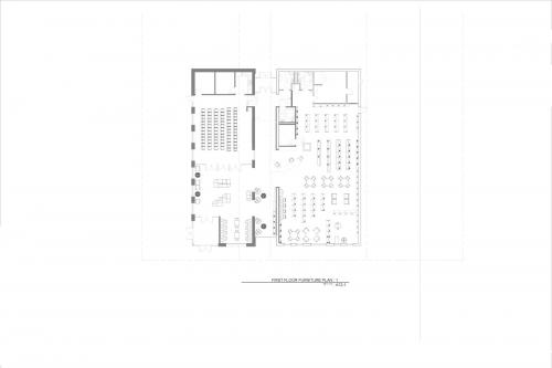 floorplan drawing, Walbridge Renovation