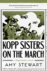 book cover, Kopp Sisters on the March