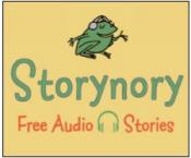 link to Storynory podcast