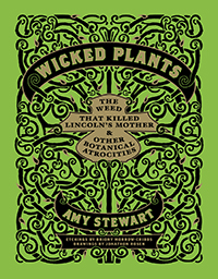 book cover, Wicked Plants